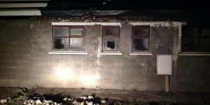 Damage caused to Cloonfad Utd's club house is €1,500.